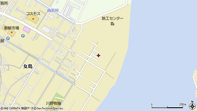 大分県佐伯市10425周辺の地図