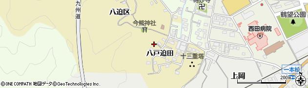 大分県佐伯市上岡1872周辺の地図
