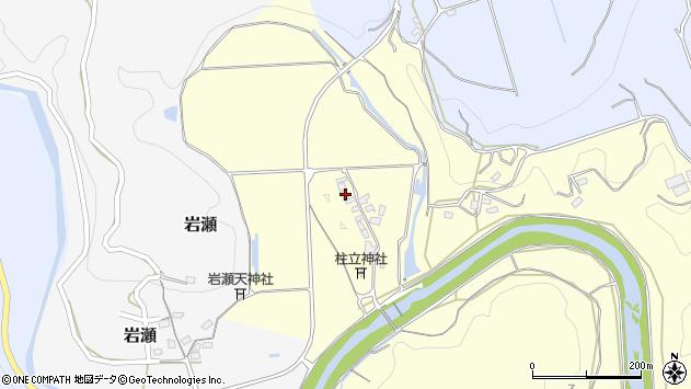 大分県竹田市君ケ園69周辺の地図