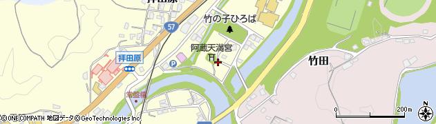 大分県竹田市玉来88周辺の地図