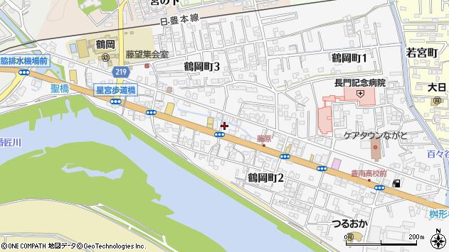 大分県佐伯市鶴岡町藤原区周辺の地図