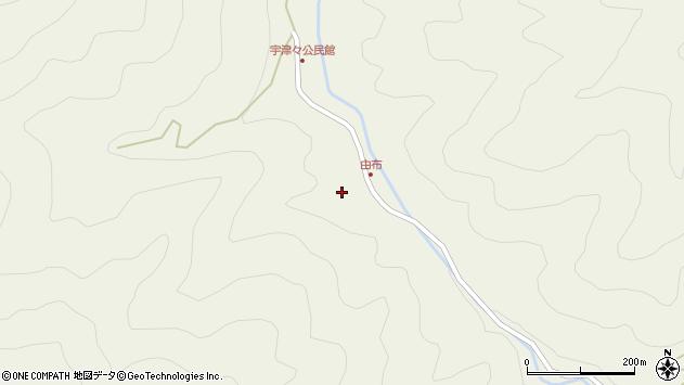 大分県佐伯市本匠大字宇津々479周辺の地図
