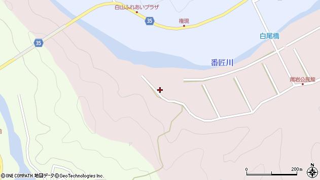 大分県佐伯市弥生大字細田85周辺の地図