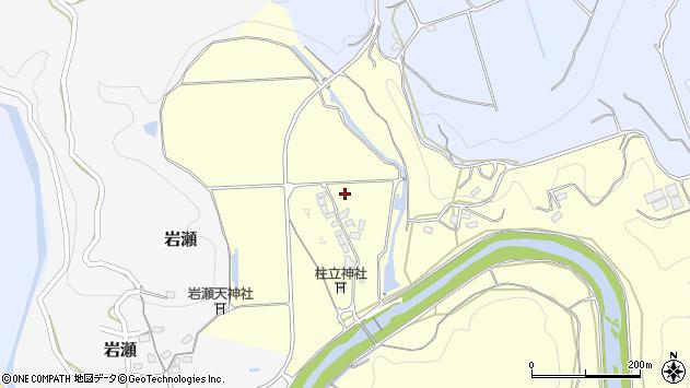 大分県竹田市君ケ園鶴原周辺の地図