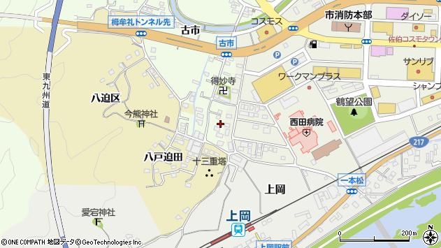 大分県佐伯市稲垣519周辺の地図