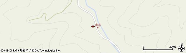大分県佐伯市本匠大字宇津々492周辺の地図