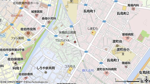 大分県佐伯市来島町13周辺の地図