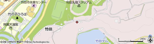 大分県竹田市竹田1244周辺の地図