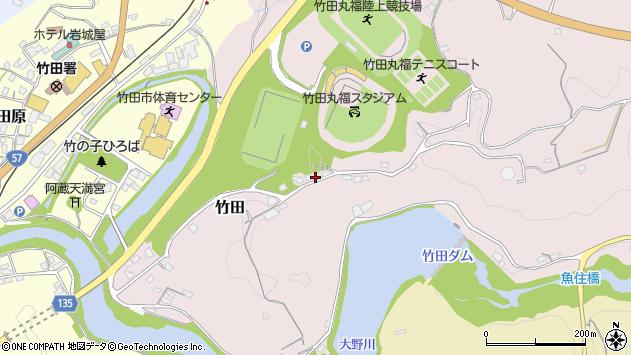大分県竹田市竹田1183周辺の地図