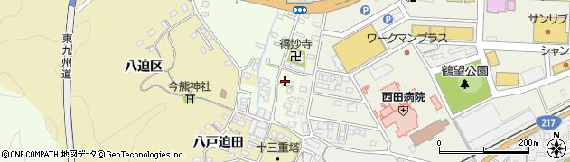 大分県佐伯市稲垣515周辺の地図