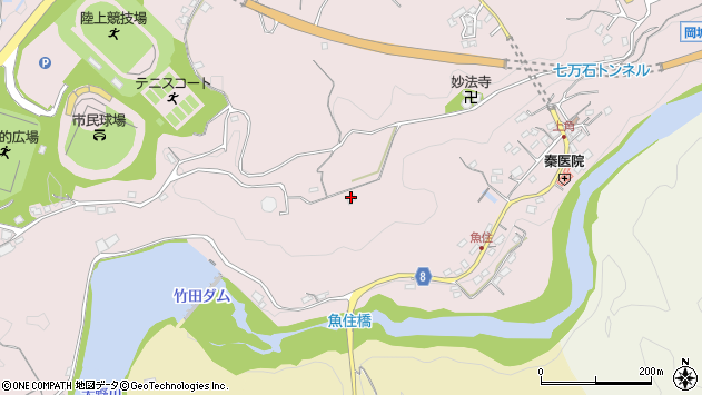 大分県竹田市竹田646周辺の地図