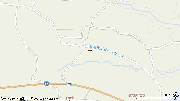 大分県竹田市今507周辺の地図