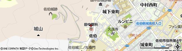 大分県佐伯市城下西町3周辺の地図