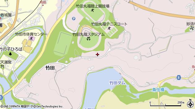 大分県竹田市竹田1266周辺の地図