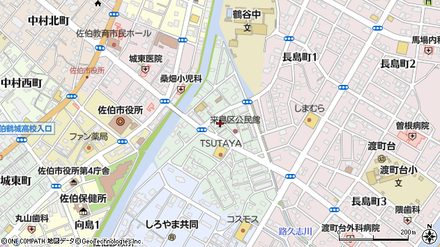 大分県佐伯市来島町8周辺の地図