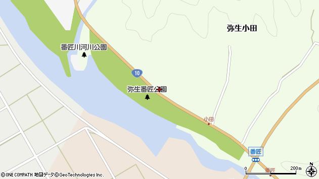 大分県佐伯市弥生大字小田94周辺の地図