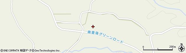 大分県竹田市今496周辺の地図