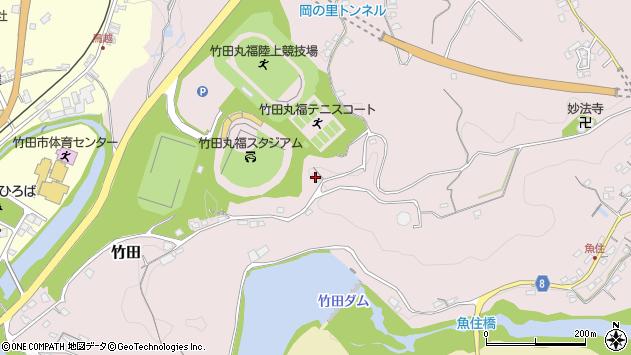 大分県竹田市竹田1397周辺の地図