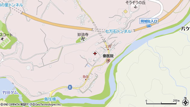 大分県竹田市竹田685周辺の地図