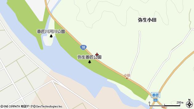 大分県佐伯市弥生大字小田178周辺の地図