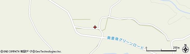 大分県竹田市今555周辺の地図
