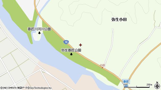 大分県佐伯市弥生大字小田101周辺の地図