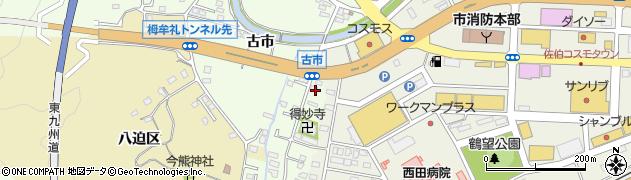 大分県佐伯市稲垣482周辺の地図