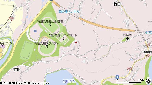大分県竹田市竹田1420周辺の地図