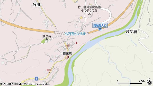 大分県竹田市竹田723周辺の地図