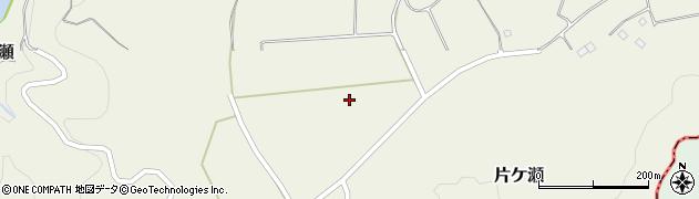 大分県竹田市片ケ瀬片ケ瀬中部周辺の地図
