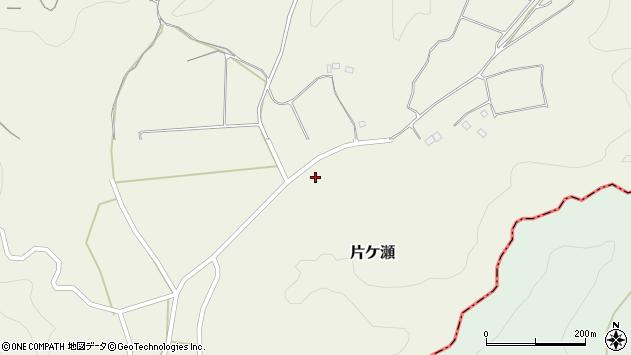 大分県竹田市片ケ瀬539周辺の地図