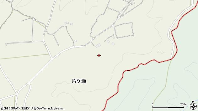 大分県竹田市片ケ瀬1857周辺の地図