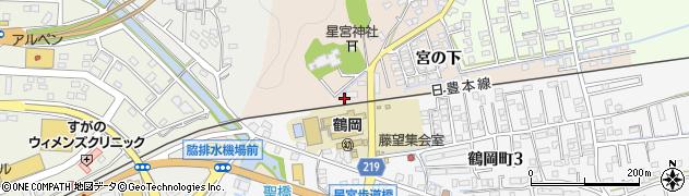 大分県佐伯市鶴望2371周辺の地図