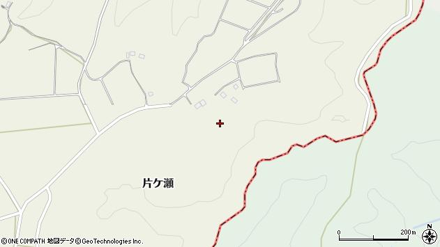 大分県竹田市片ケ瀬626周辺の地図