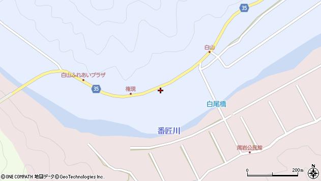 大分県佐伯市弥生大字山梨子234周辺の地図