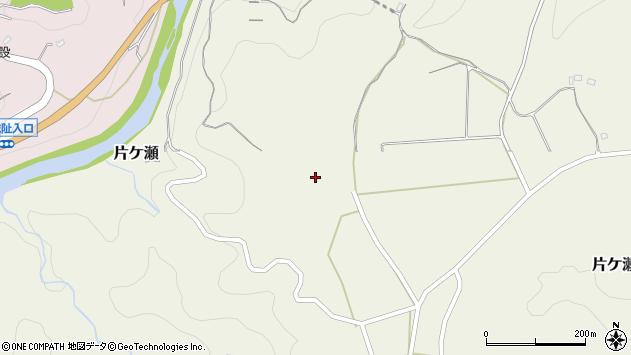 大分県竹田市片ケ瀬418周辺の地図