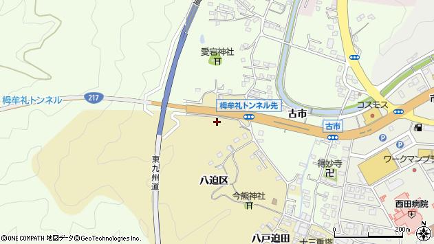 大分県佐伯市上岡2005周辺の地図