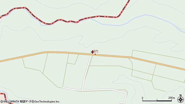 大分県竹田市小塚1524周辺の地図