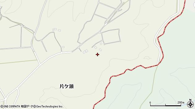 大分県竹田市片ケ瀬625周辺の地図