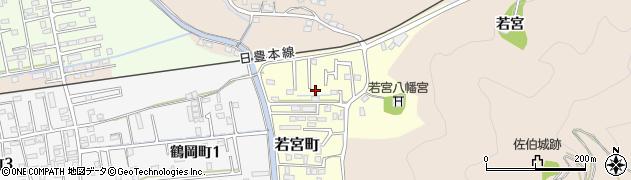 大分県佐伯市若宮町周辺の地図