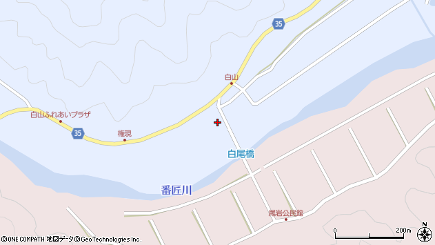 大分県佐伯市弥生大字山梨子273周辺の地図