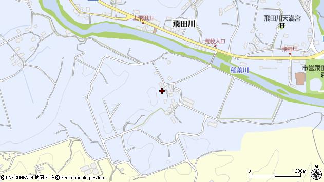 大分県竹田市飛田川1288周辺の地図