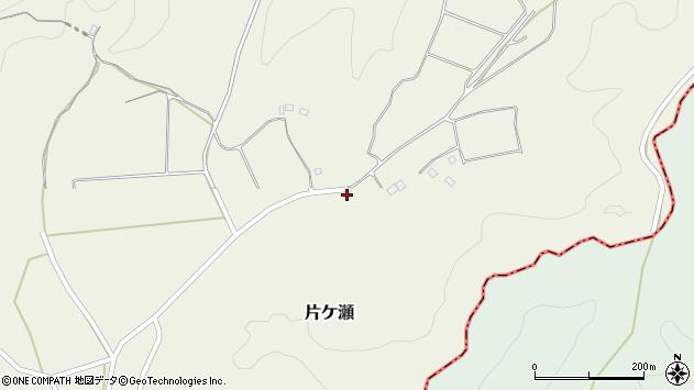 大分県竹田市片ケ瀬585周辺の地図