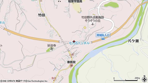 大分県竹田市竹田600周辺の地図