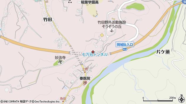 大分県竹田市竹田589周辺の地図