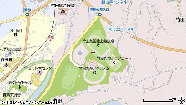 大分県竹田市竹田1320周辺の地図