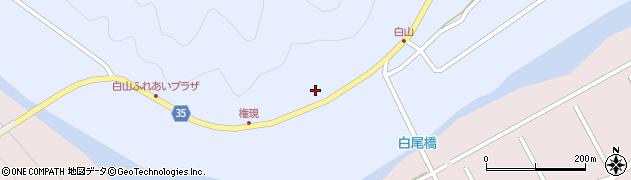 大分県佐伯市弥生大字山梨子246周辺の地図