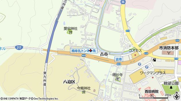 大分県佐伯市稲垣243周辺の地図