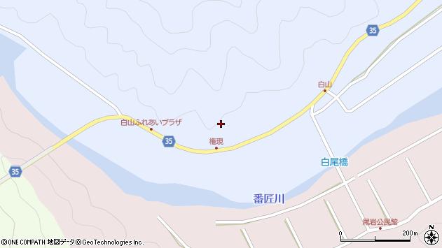 大分県佐伯市弥生大字山梨子210周辺の地図