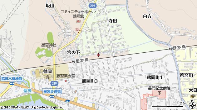 大分県佐伯市鶴望2328周辺の地図